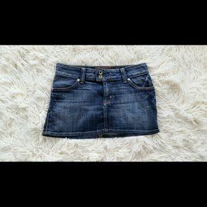 Vintage Guess Denim Skirt Size 24